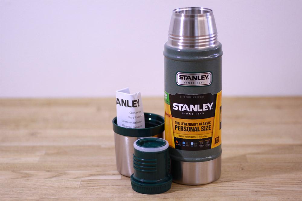 STANLEY(スタンレー) クラシック真空ボトル 0.47 グリーン 01228-032 セット内容