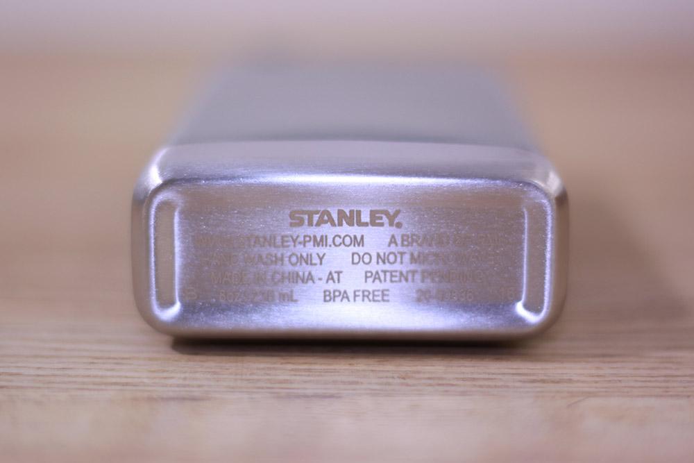 STANLEY(スタンレー) SS フラスコ 0.23L グリーン 01564-023 底面