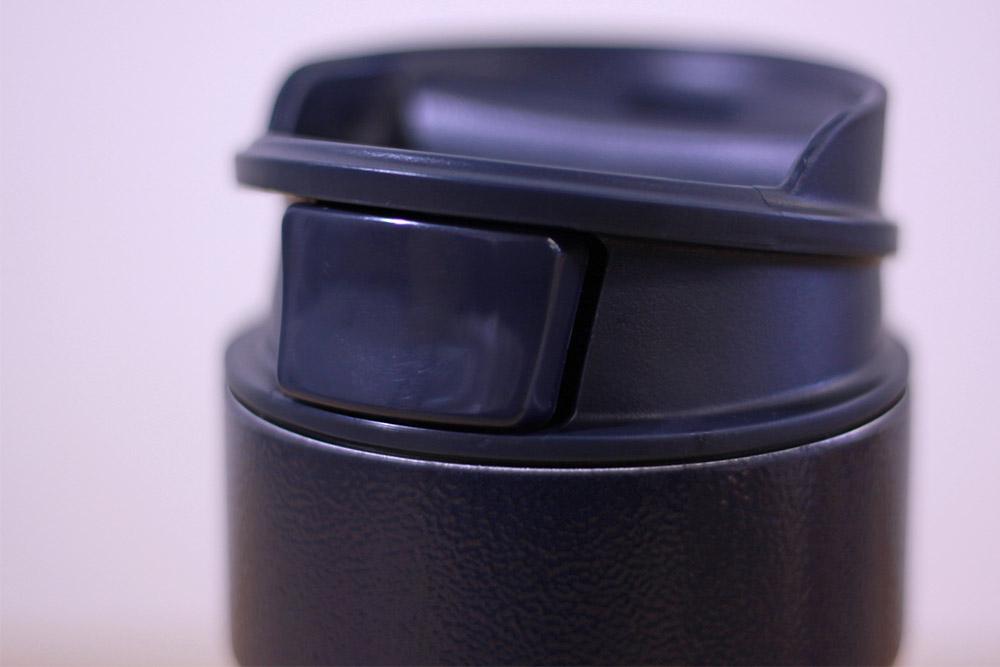 STANLEY(スタンレー) 真空ワンハンドマグ 0.35L ネイビー シンプルで使い勝手の良い飲み口