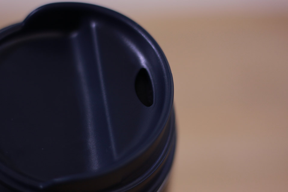 STANLEY(スタンレー) 真空ワンハンドマグ 0.35L ネイビー 飲み口