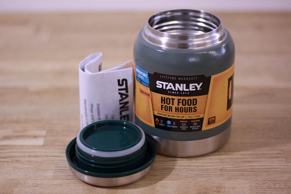 STANLEY(スタンレー) 真空フードジャー グリーン 01610-004 セット内容