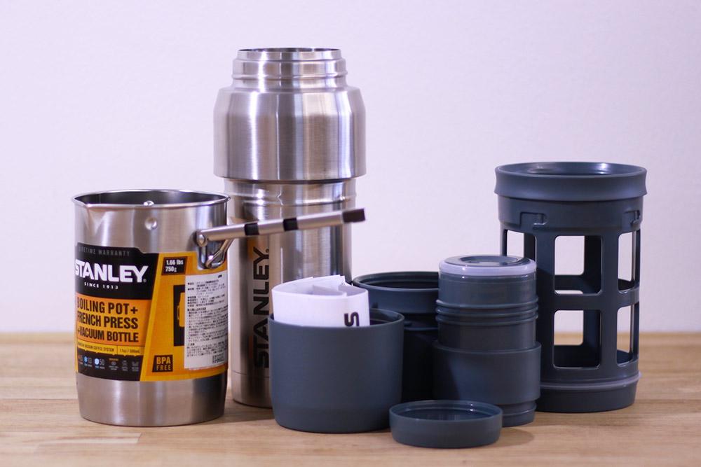 STANLEY(スタンレー) 真空コーヒーシステム 0.5L 01698-006 セット内容