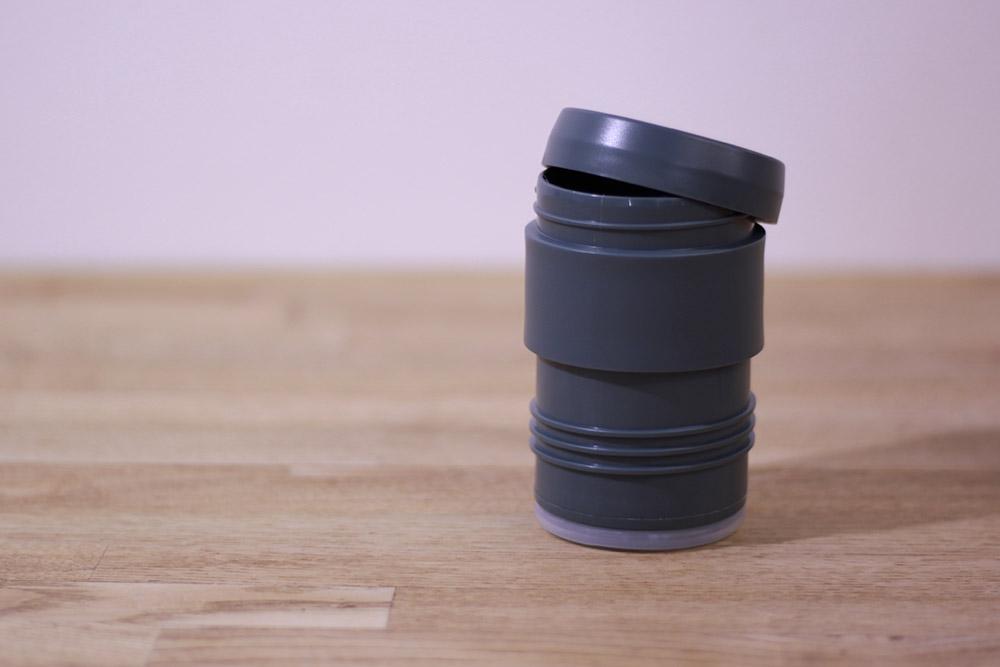 STANLEY(スタンレー) 真空コーヒーシステム 0.5L 01698-006 フタに珈琲豆を保管できます