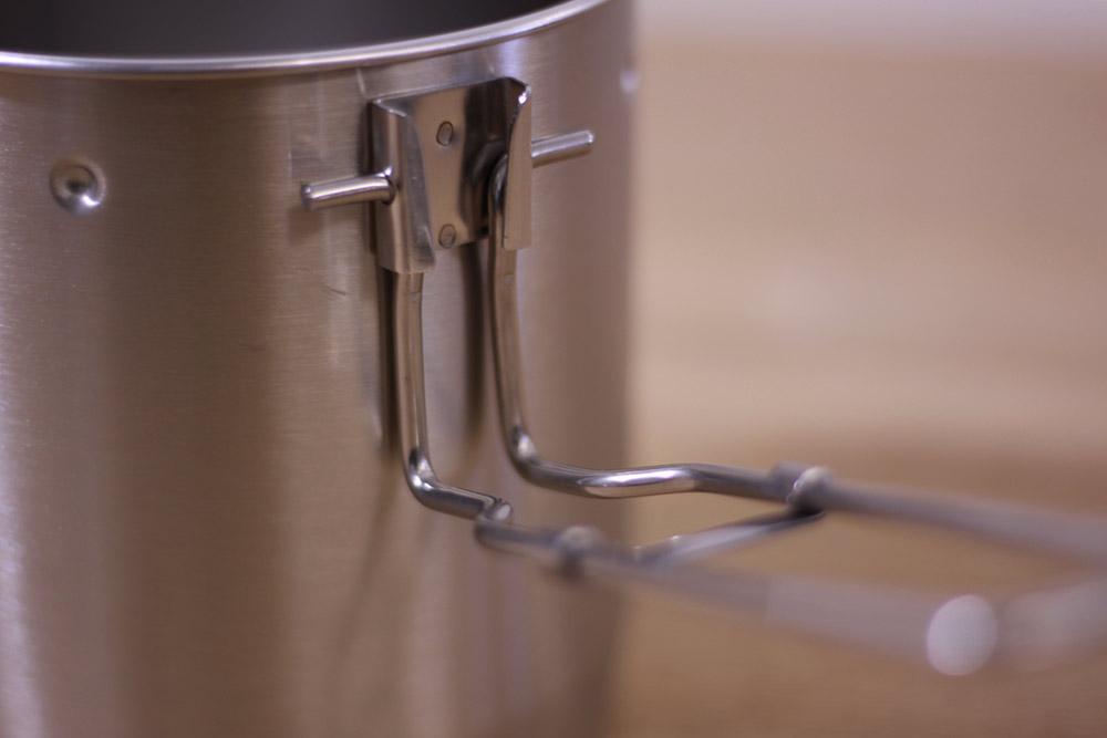 STANLEY(スタンレー) マウンテンコンパクトクックセット 0.7 01856-005 折り畳み式のハンドル