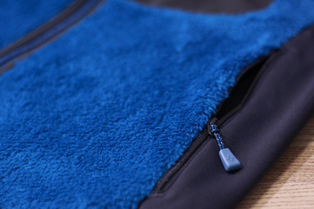 mont-bell(モンベル) クリマエアベスト Men's 左右のサイドポケット