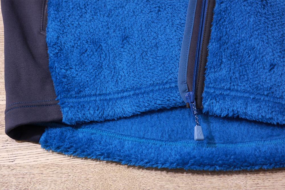mont-bell(モンベル) クリマエアベスト Men's 裾部分