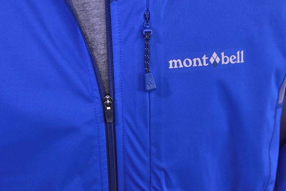mont-bell(モンベル) クロスランナー ジャケット フロントジップと胸ポケット