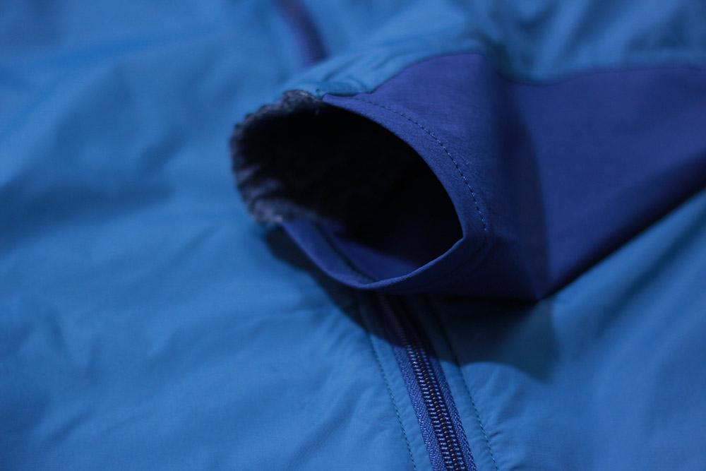 mont-bell(モンベル) ライトシェルジャケット 袖口