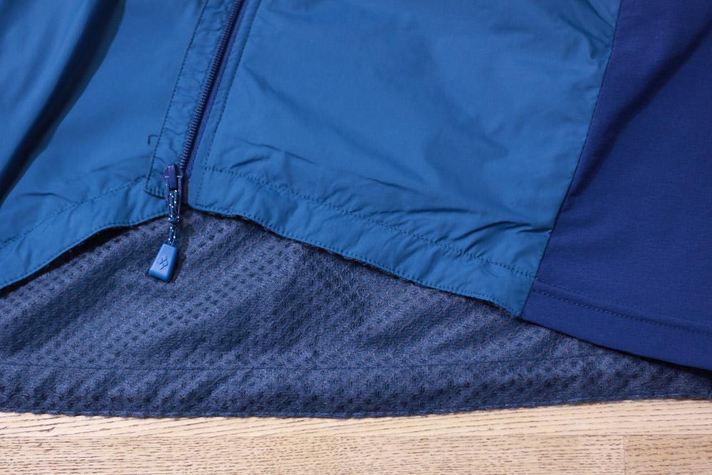 mont-bell(モンベル) ライトシェルジャケット 裾