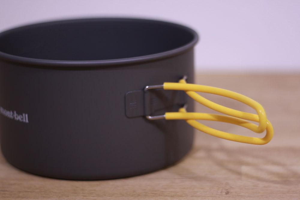 mont-bell(モンベル) アルパインクッカー16 1124687 シリコン製カバー付きハンドル