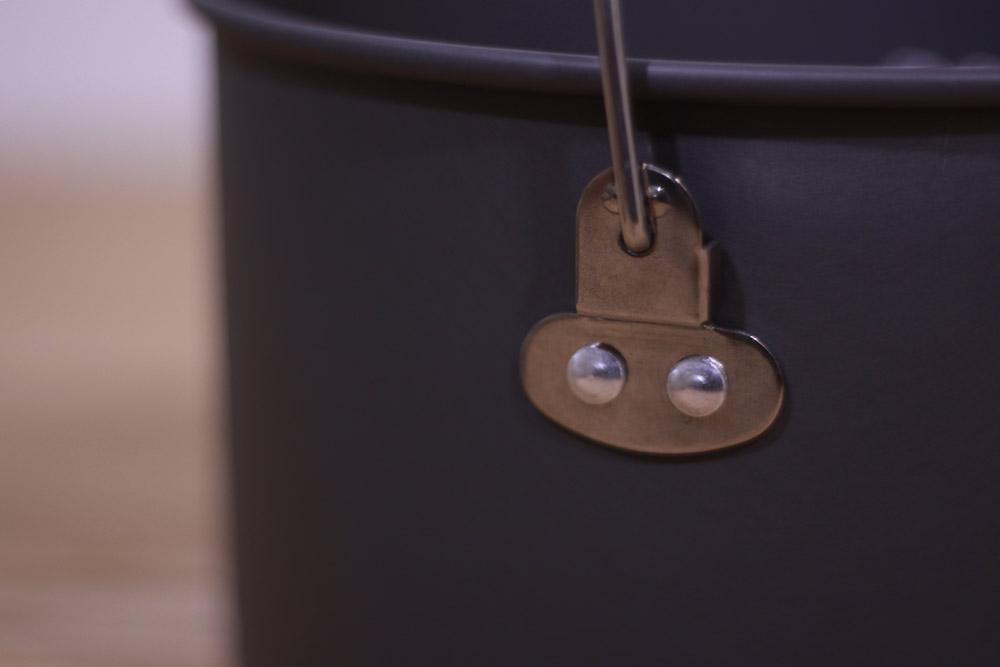 mont-bell(モンベル) アルパインクッカー18 1124688 ハンドルが倒れない設計