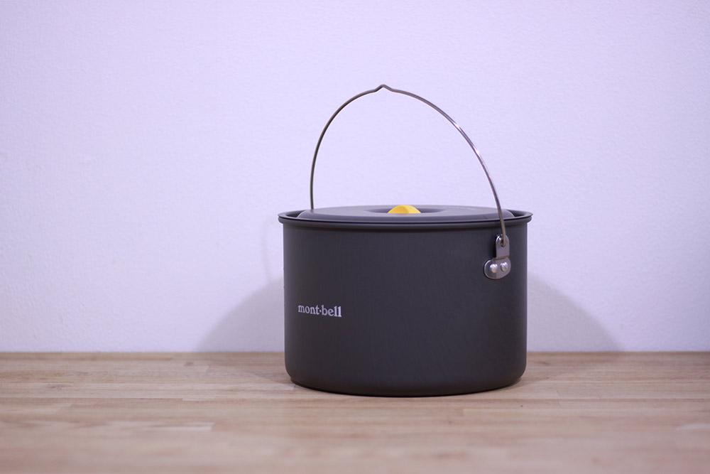 mont-bell(モンベル) アルパインクッカー20 1124689 取っ手もついており使いやすい仕様