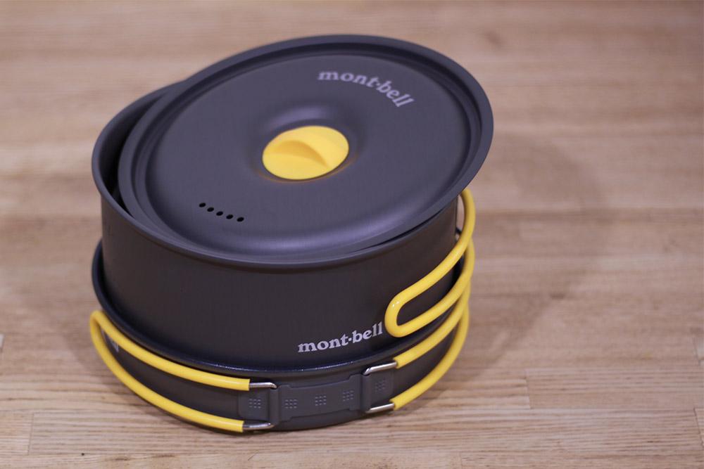 mont-bell(モンベル) アルパインクッカー14+16 パンセット 1124690 スタッキングしてコンパクトに収納
