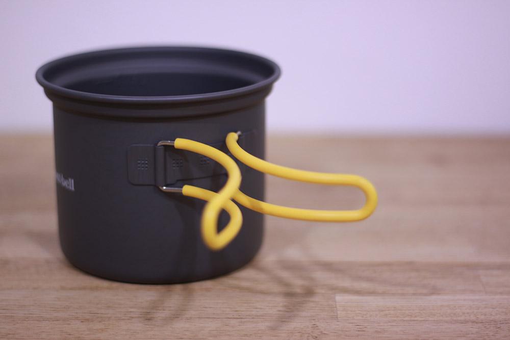 mont-bell(モンベル) アルパインクッカーディープ11 1124693 シリコンカバー付きのハンドル