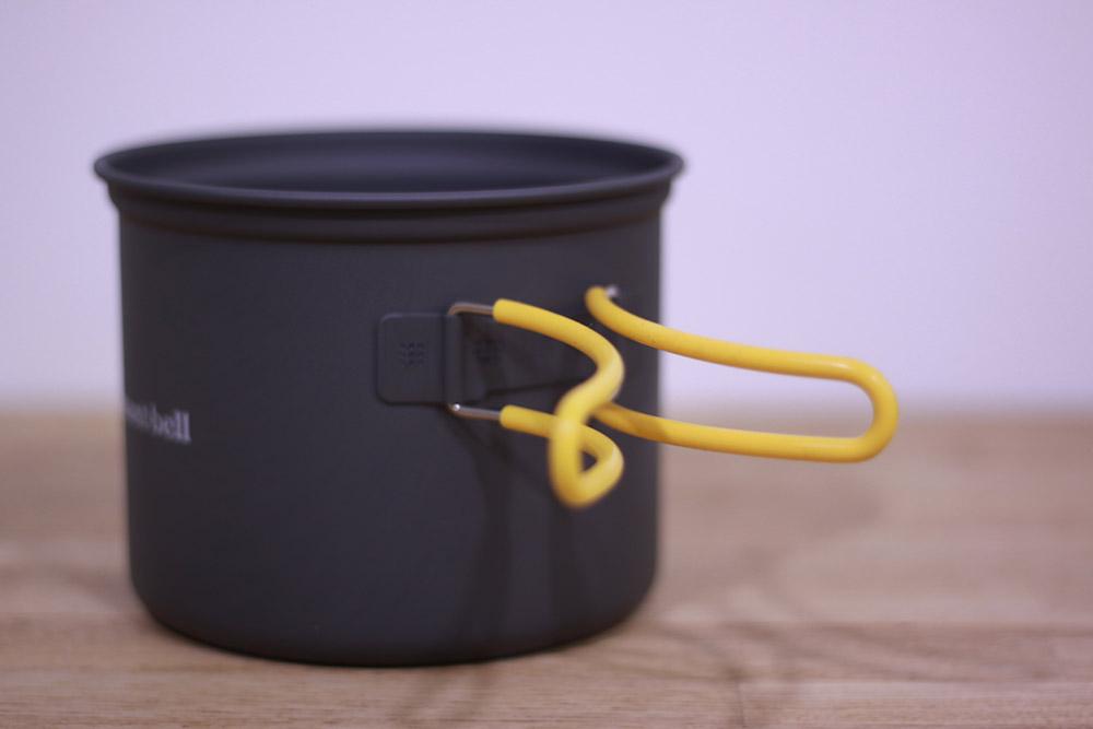 mont-bell(モンベル) アルパインクッカーディープ13 1124694 シリコンカバー付きのハンドル