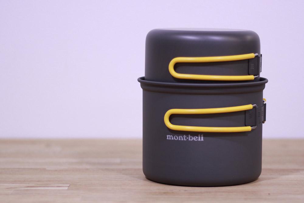 mont-bell(モンベル) アルパインクッカーディープ13 重ねて収納してスタッフバッグに