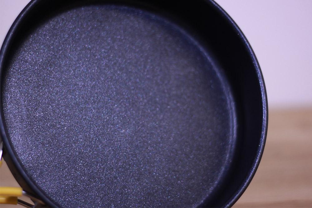 mont-bell(モンベル) アルパインフライパン16 1124697 フッ素加工され本格的な調理にも最適