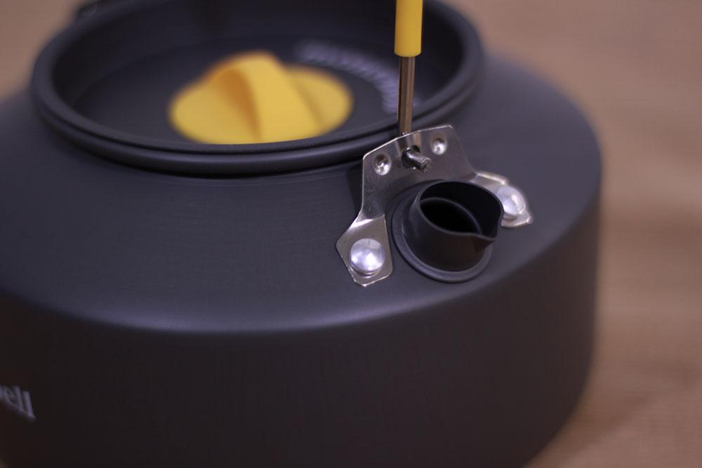 mont-bell(モンベル) アルパインケトル0.9L 1124701 使いやすい注ぎ口