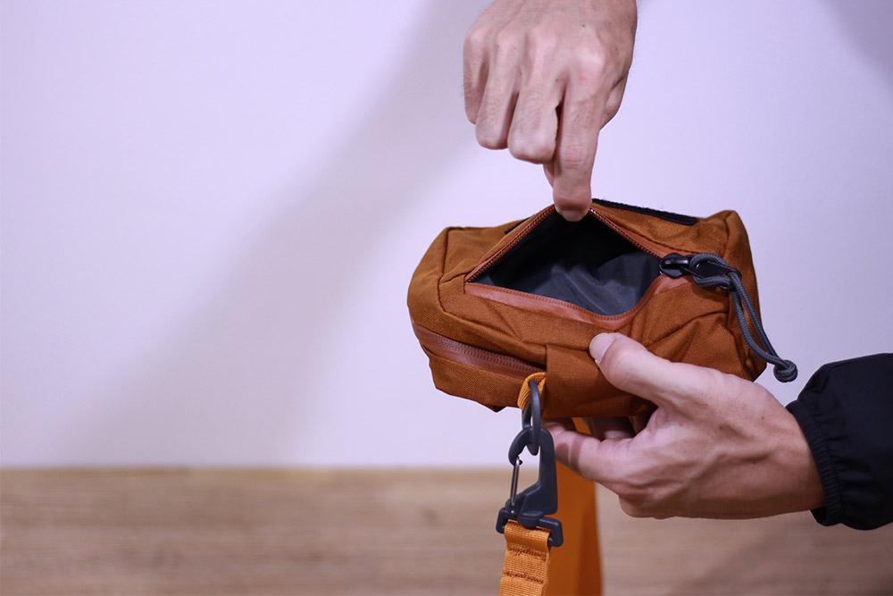 MysteryRanch(ミステリーランチ) ボップ Clay One Size 19761102037 裏側のポケット