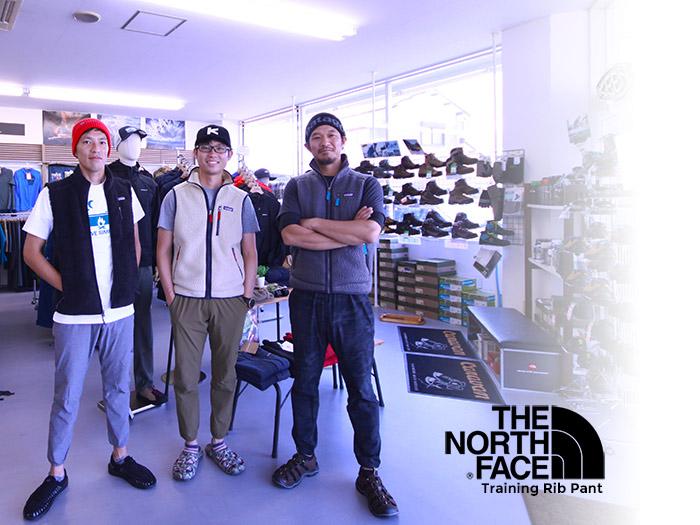 TheNorthFace(ノースフェイス) Training Rib Pant NB81785