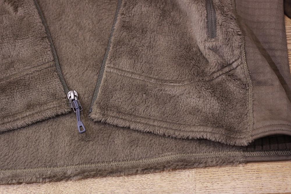 パタゴニア R2ジャケット 裾部分