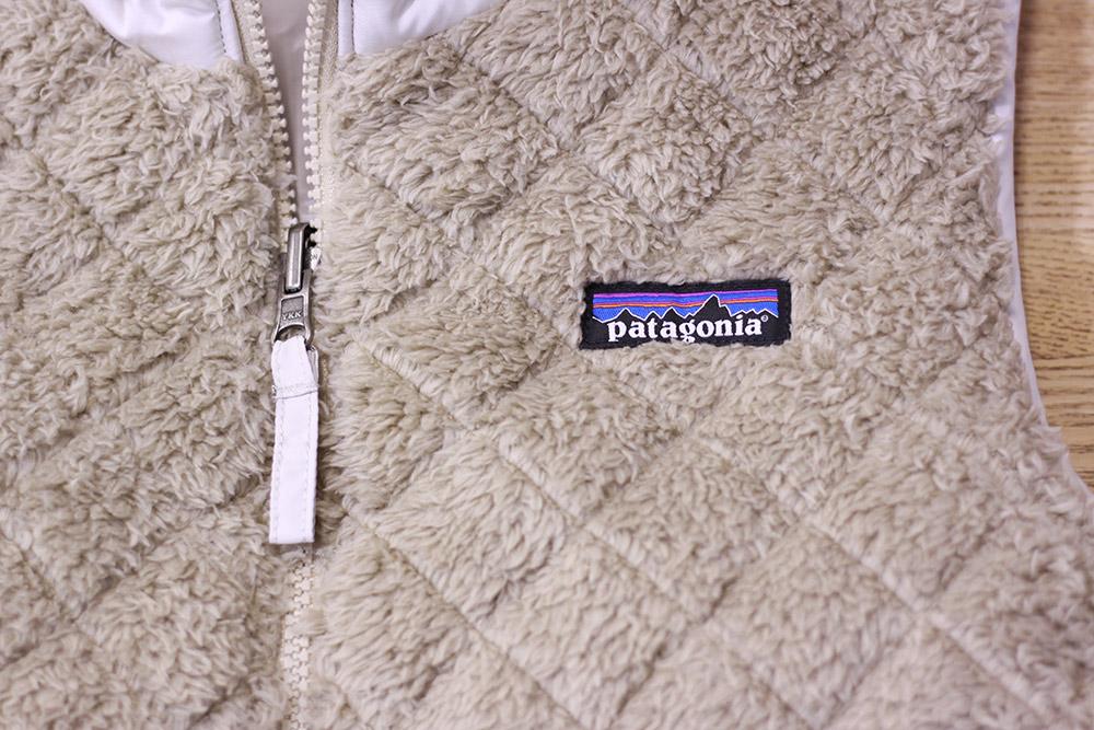 patagonia(パタゴニア) W's Los Gatos Hooded Vest 胸部デザイン