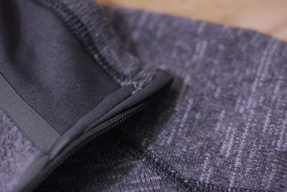 パタゴニア ベターセータージャケット ジッパー裏部分