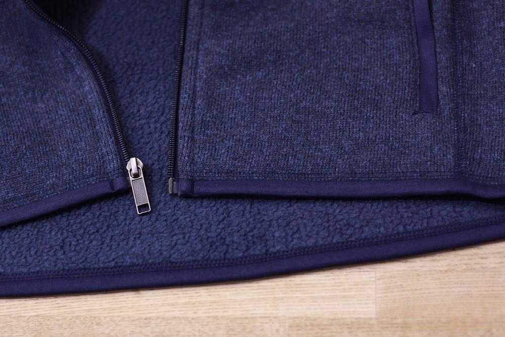 パタゴニア ベターセーターベスト 裾部分