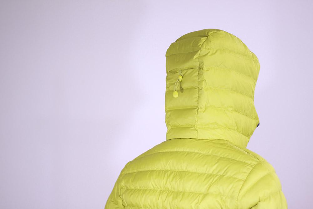 patagonia(パタゴニア) M's Down Sweater Hoody 84701 フード部分のドローコード