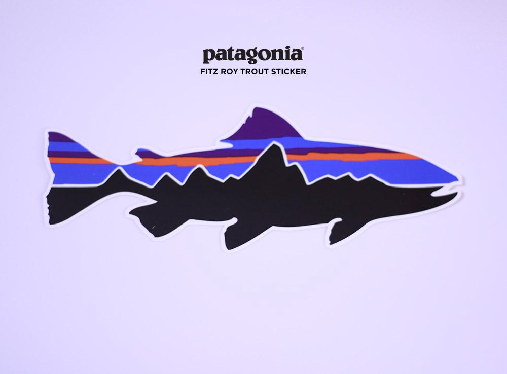 patagonia(パタゴニア) Fitz Roy Trout Sticker 91938