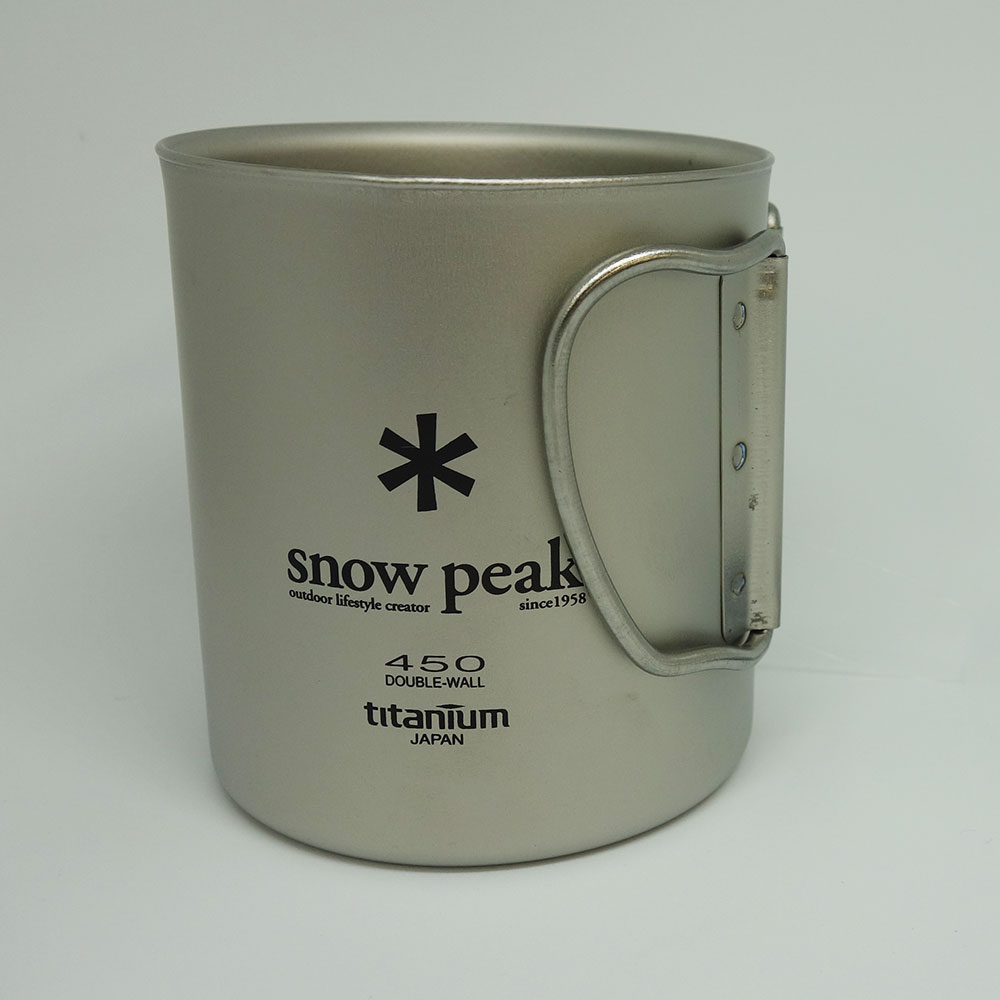 SnowPeak(スノーピーク) チタンダブルマグ450 MG-053R