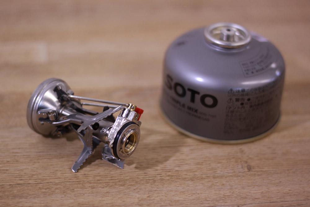 SOTO(ソト) AMICUS(アミカス) SOD-320 コンパクトな収納性