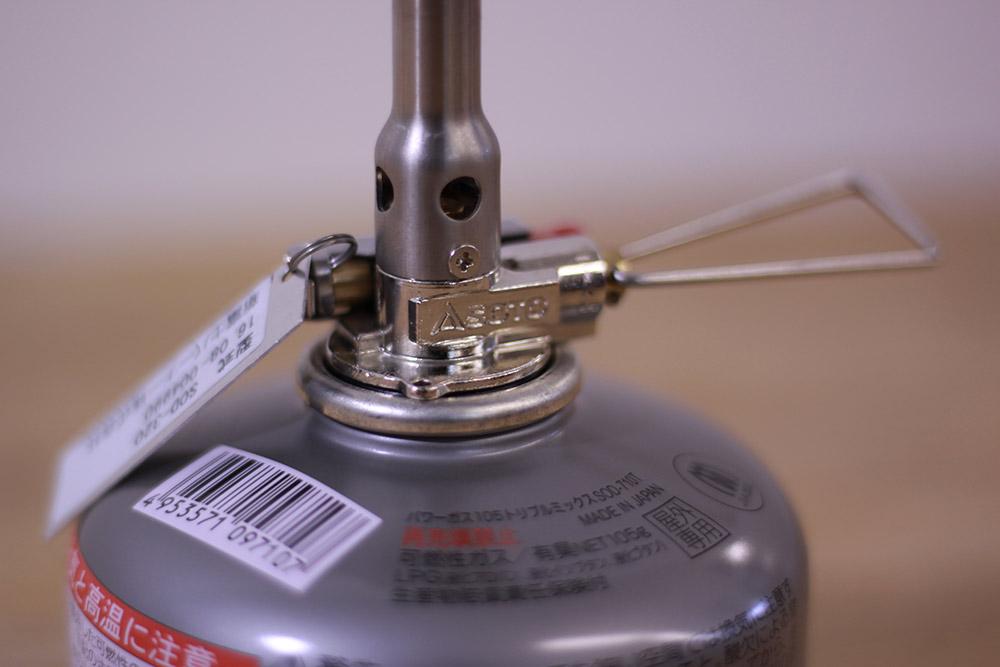 SOTO(ソト) AMICUS(アミカス) SOD-320 カートリッジ接続部